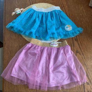 Disney Frozen & Elsa 2 bundle Skirts